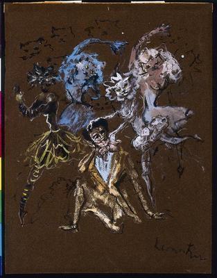 Artist: Léonor Fini, Argentinian, 1907-1996