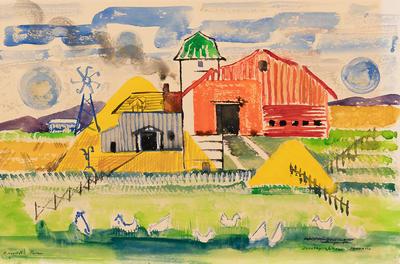 Artist: Dorothy Johnson Bergamo, American, 1912-2002