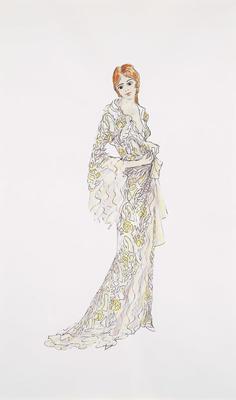 Costume design for Lulu in Lulu; Jocelyn Herbert; British, 1917-2003; TL2002.104.3