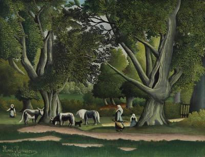 Artist: Henri Rousseau, French, 1844-1910