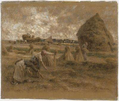 The Gleaners; Léon Augustin Lhermitte; French, 1844-1925; 1955.5