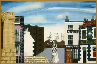 Artist: Osbert Lancaster, British, 1908-1986