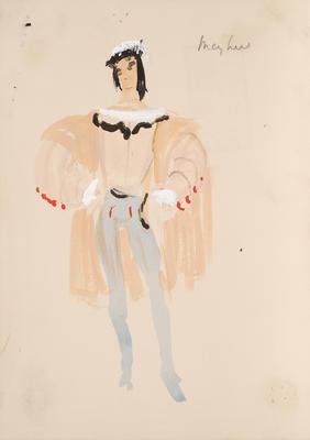 Costume design for A Midsummer Night's Dream; Motley Theatre Design Group; TL2002.185.1