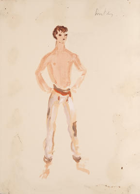 Costume design for A Midsummer Night's Dream; Motley Theatre Design Group; TL2002.185.2