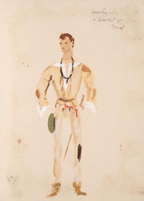 Costume design for A Midsummer Night's Dream; Motley Theatre Design Group; TL2002.185.3