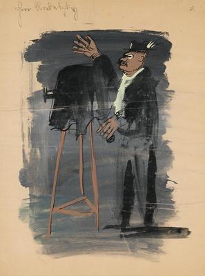Artist: Caspar Neher, German, 1897-1962