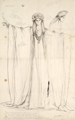 Costume design; Charles Ricketts; British, 1866-1931; TL2002.225.2