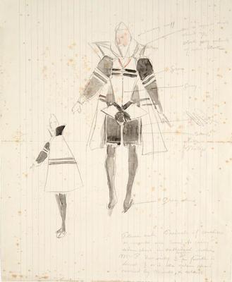 Costume design; Charles Ricketts; British, 1866-1931; TL2002.225.1