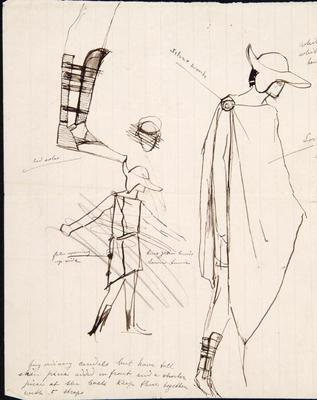 Sketches; Charles Ricketts; British, 1866-1931; TL2002.225.8