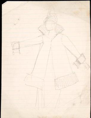 Costume design; Charles Ricketts; British, 1866-1931; TL2002.225.9