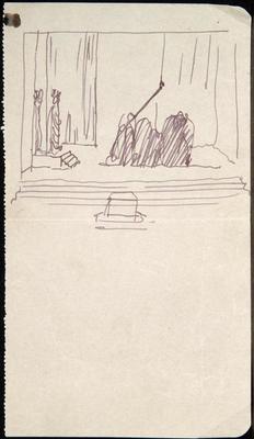 Scene design; Charles Ricketts; British, 1866-1931; TL2002.225.10