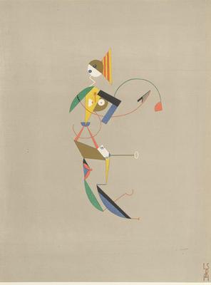 Artist: Lothar Schreyer, German, 1886-1966