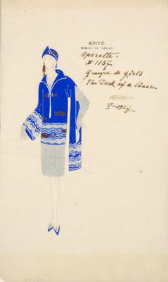 Artist: Erté, French, born Russia, 1892-1990