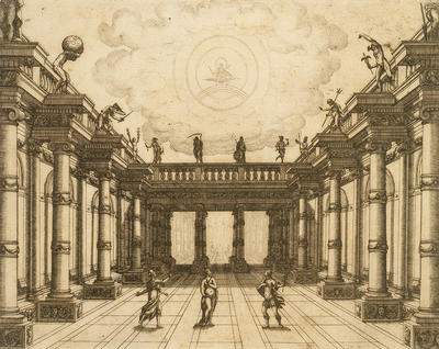 Designer: Giacomo Torelli, Italian, 1608-1678