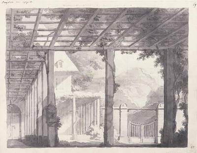 Artist: Antonio Basoli, Italian, 1774-1848