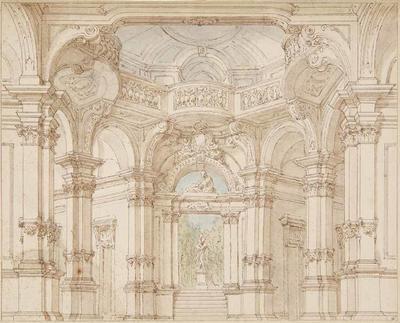Artist: Antonio Galli Bibiena, Italian, 1700-1774
