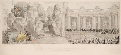 Madame Pompadour in Acis and Galatea at the court of Louis XV