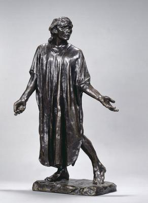 Jean de Fiennes from the Burghers of Calais; Auguste Rodin; French, 1840-1917; 1963.1.1