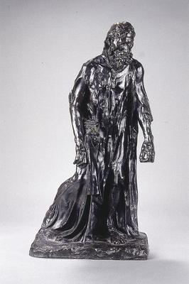 Eustache de Saint-Pierre from the Burghers of Calais; Auguste Rodin; French, 1840-1917; 1963.1.4