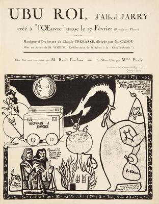 Artist: Alfred Jarry, French, 1873-1907
