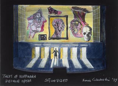 Artist: Franco Colavecchia, American, born England, 1937