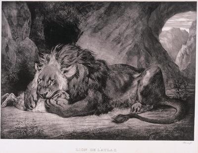 Artist: Eugène Delacroix, French, 1798-1863