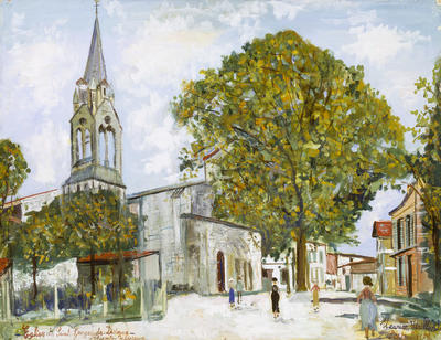 Artist: Maurice Utrillo, French, 1883-1955