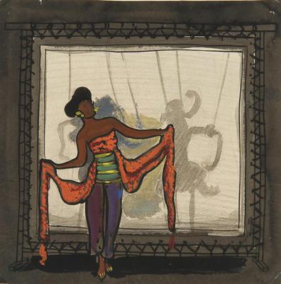 Artist: Robert Edmond Jones, American, 1887-1954