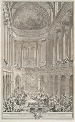 Ceremonie du Marriage de Louis Dauphin