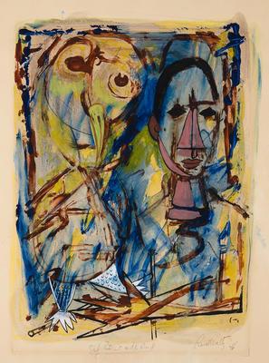 Artist: Russell Woeltz, American, 1916-1989