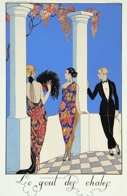 Falbalas et Fanfreluches: Almanach des Modes, Présentes, Passées et Futures pour 1923 (Ruffles and Frills: Almanac of Fashion, Present, Past, and Future for 1923)