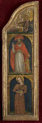 Circle of: Ottaviano di Martino Nelli, Italian, ca. 1370-1444