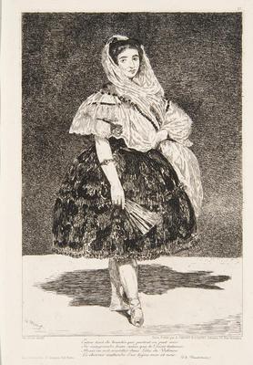 Lola de Valence; Édouard Manet; French, 1832-1883; 1966.1