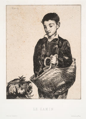 Le Gamin (The Urchin); Édouard Manet; French, 1832-1883; 1967.4