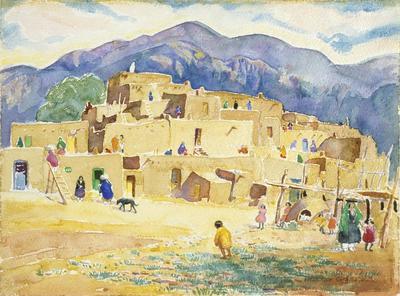 Taos Pueblo (Pueblo Dwellers)