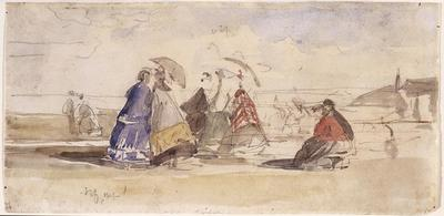 Artist: Eugène Boudin, French, 1824-1898