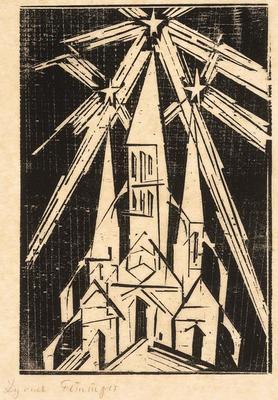 Artist: Lyonel Feininger, American, 1871-1956