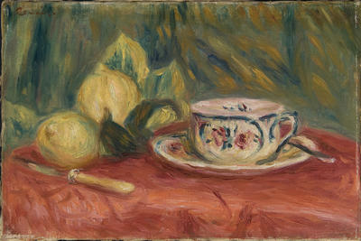 Lemons and Tea Cup, Cagnes