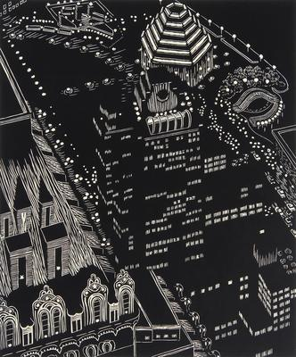 Mixed Heights; Yvonne Jacquette; American, born 1934; 2007.21