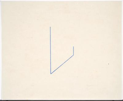 Artist: Fred Sandback, American, 1943-2003