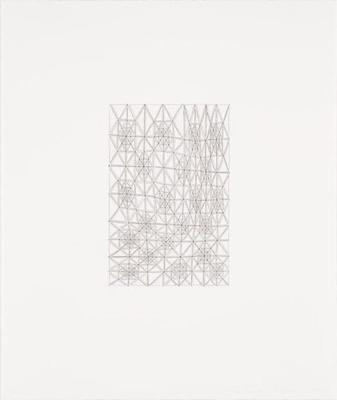 Lattice; James Siena; American, born 1957; 2014.101.5