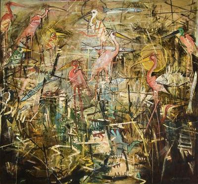 Artist: John Alexander, American, born 1945