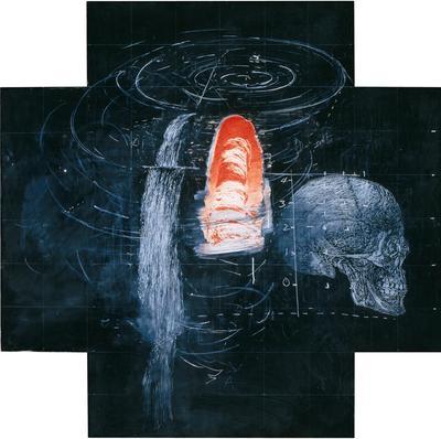 Artist: Vernon Fisher, American, born 1943