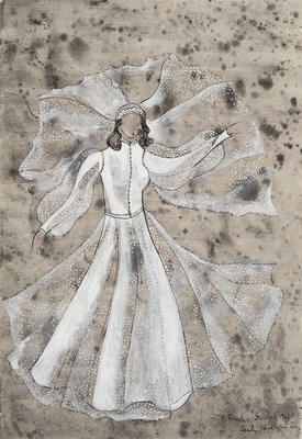Artist: Maria Frank Abrams, American, born Hungary, 1924-2013