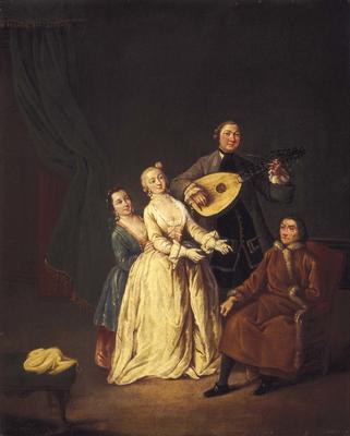 Artist: Pietro Longhi, Venetian, 1702-1785