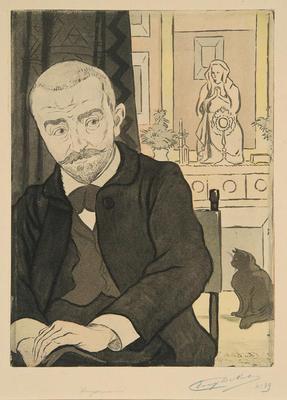 Portrait de Huysmans