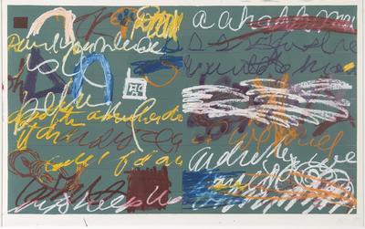 Artist: Joan Snyder, American, born 1940