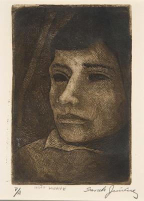 Artist: Sarah Jiménez, Mexican, born 1927