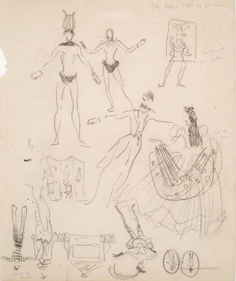 Artist: Christian Bérard, French, 1902-1949