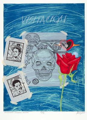 Artist: Rudy Fernandez, American, born 1948